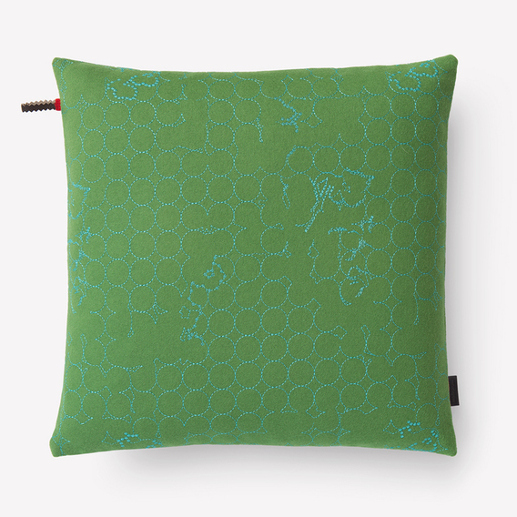 Layers Vineyard Small Pillow by Hella Jongerius
