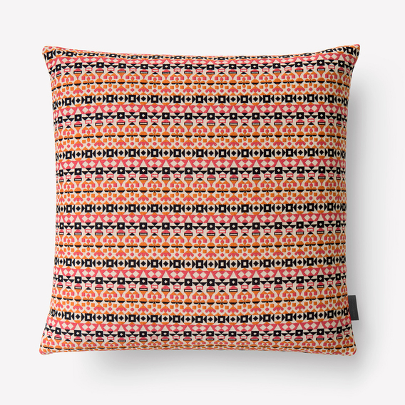 Arabesque Pillow by Alexander Girard