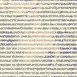 Words Landscape