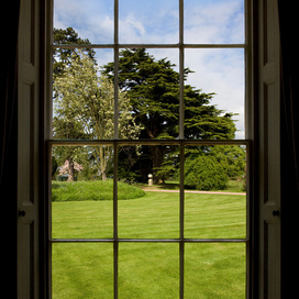 Stately Home Window Views