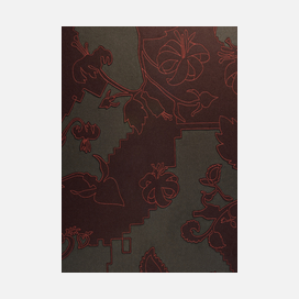 Maharam layersgardendouble 002earthchocolate 1