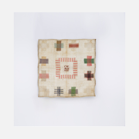 Maharam darning sampler historical reference 1850
