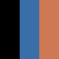 002 Black, Cornflower, Terracotta