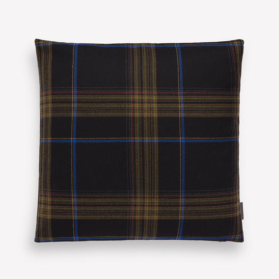 Mingled Plaid Pillow by Paul Smith