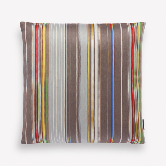 Sequential Stripe Pillow by Paul Smith