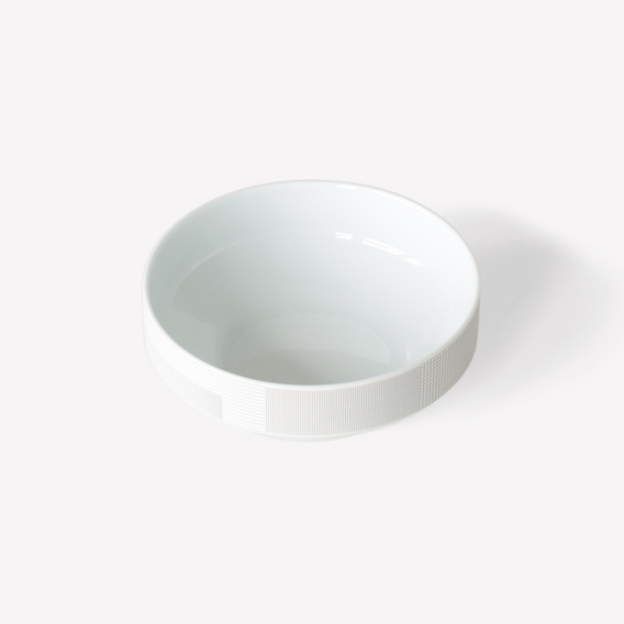 Pattern Porcelain Bowl by Scholten & Baijings