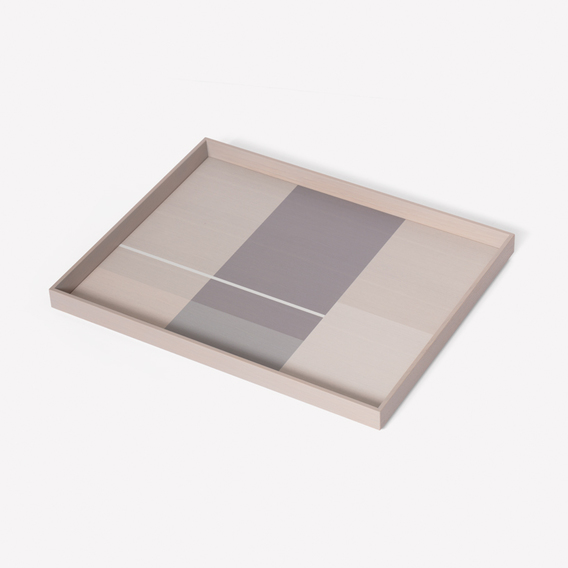 Pattern Tray Large by Scholten & Baijings