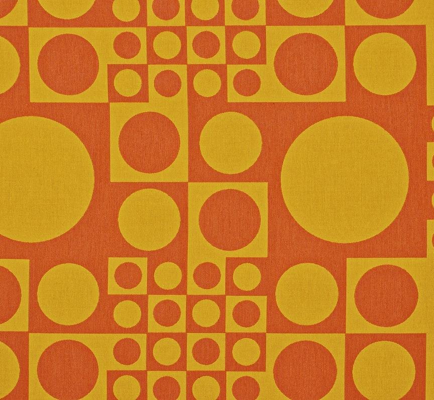maharam product textiles geometri 001 sun yellow orange