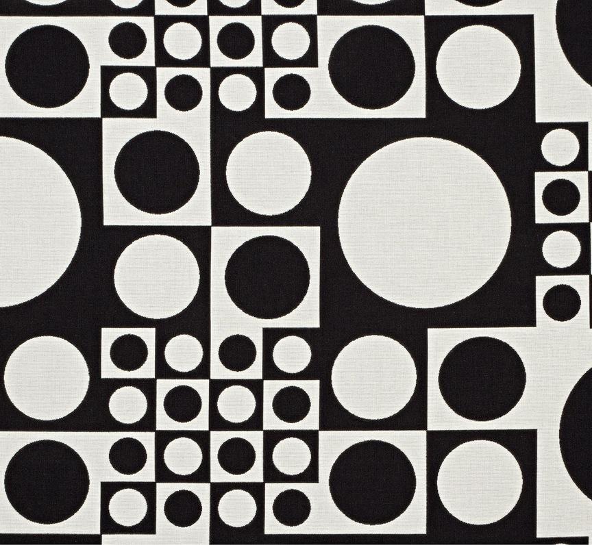 Maharam Product Textiles Geometri 004 White Black