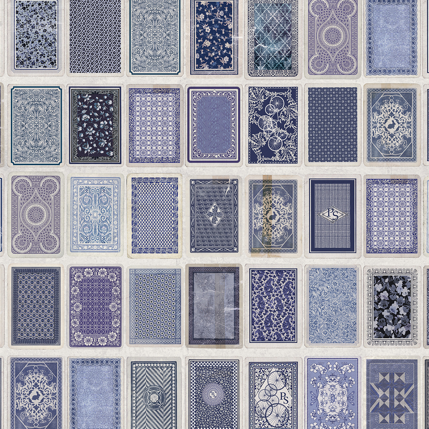 Maharam Product Textiles Playing Cards Back 001