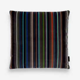 Velvet Stripe Pillow by Paul Smith
