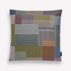 Assembled Check Pillow by Paul Smith