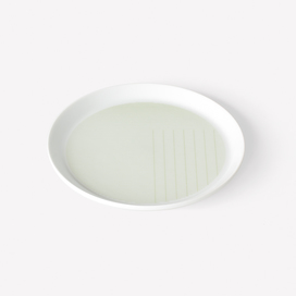 Pattern Porcelain Plate Small by Scholten & Baijings