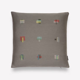 Darning Sampler Pillow by Scholten & Baijings