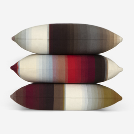 Blended Stripe Pillow, Set of Three by Paul Smith
