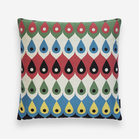 Amulet Pillow by Sonnhild Kestler