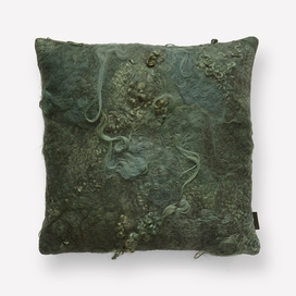 Drenthe Heath Pillow by Claudy Jongstra