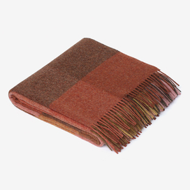 Wool Check Throw by Paul Smith