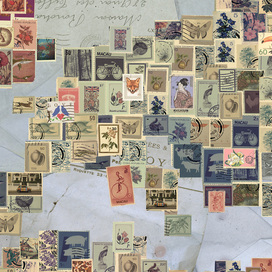 Stamp World Map
