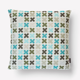 Quatrefoil Pillow by Alexander Girard