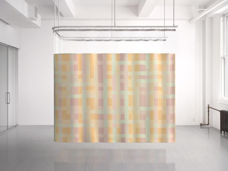 Maharam Product Textiles Cubist 002 Melon