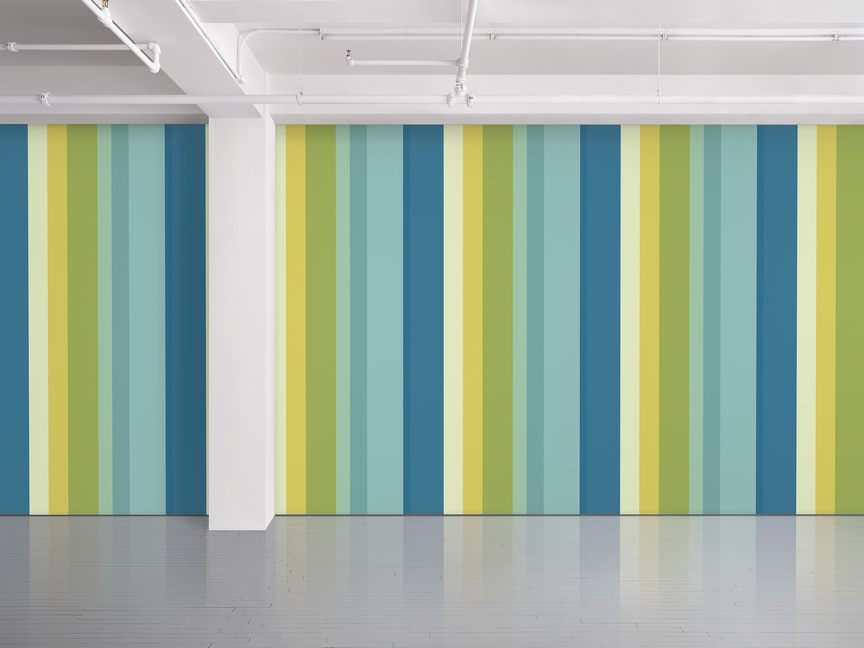 Maharam Product Textiles Mixed Stripe 007 Honeydew