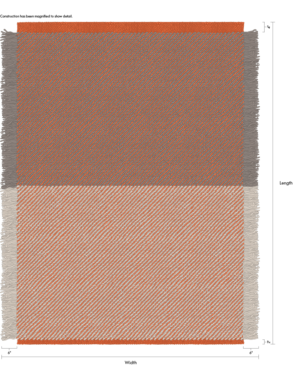 Maharam Product Rugs Fringe 622