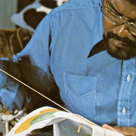Dual Threat: The Needlepoint of Rosey Grier